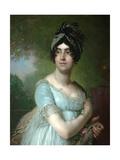 Portrait of Darya Semyonovna Yakovleva Giclee Print by Vladimir Lukich Borovikovsky
