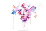 About a New Place Posters van Agnes Cecile