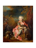 Portrait of a Young Nobleman Giclee Print by Nicolas De Largilliere