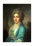 Portrait of Yekaterina Alexandrovna Novosiltseva Giclee Print by Vladimir Lukich Borovikovsky