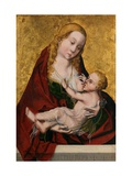Tthe Virgin Suckling the Child Giclee Print by  Maestro Bartolome