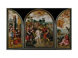 The Triptych of Saint John the Baptist Giclee Print by Pierre Pourbus