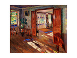In a House Giclee Print by Sergei Arsenyevich Vinogradov