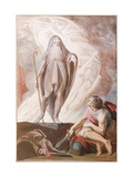 Teiresias Foretells the Future to Odysseus Giclee Print by Johann Heinrich Fussli