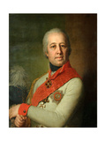 Portrait of Ivan Petrovich Dunin Giclee Print by Vladimir Lukich Borovikovsky