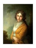 Portrait of Countess Natalia Ivanovna Kurakina Giclee Print by Vladimir Lukich Borovikovsky