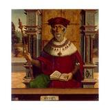 The Prophet Ezekiel Giclee Print by  Maestro De Becerril
