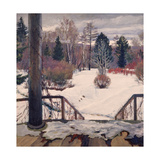 Spring Is Coming Giclee Print by Sergei Arsenyevich Vinogradov