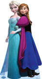 Elsa and Anna - Disney's Frozen Lifesize Standup Stand Up