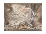 The Shepherd's Dream Giclee Print by Johann Heinrich Fussli
