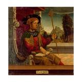 King Solomon Giclee Print by  Maestro De Becerril