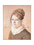 Portrait of Henriette Schnorr Von Carolsfeld Giclee Print by Julius Schnorr von Carolsfeld