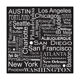 Cities of America Photographic Print by Jan Weiss