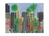 Palms in San Francisco Fotografie-Druck von Jan Weiss