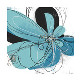 Tiffany Blue Floral Five Photographic Print by Jan Weiss