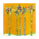 Five Palms Photographic Print by Jan Weiss