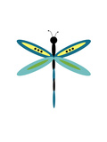 Dragonfly Goes Mod One Photographic Print by Jan Weiss