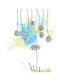 Floral Swirls Fotodruck von Jan Weiss