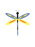Dragonfly Goes Mod Two Photographic Print by Jan Weiss