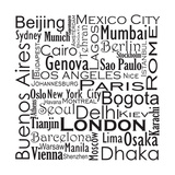 Cities of The World Photographic Print by Jan Weiss