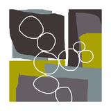 Irregular Circles 3 Fotodruck von Jan Weiss