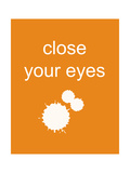 Close Your Eyes Photographic Print by Jan Weiss
