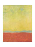Desert Horizon Poster by Jan Weiss