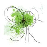 Green Pop Fotografie-Druck von Jan Weiss
