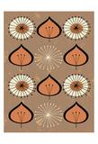 Seed - Orange Prints by Tracy Walker
