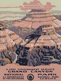 Grand Canyon National Park Prints by  Vintage Reproduction
