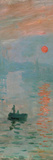 Impression, Sunrise, c. 1872 (detail) Prints by Claude Monet