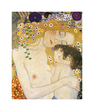 Mother and Child (detail from The Three Ages of Woman), c. 1905 Lámina giclée por Gustav Klimt