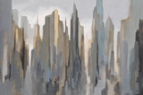 Midtown Skyline Póster por Gregory Lang