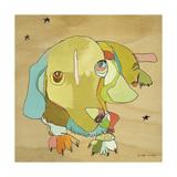 Cooper Dog Prints by Jennifer Mercede