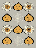 Seed - Gold Poster by Tracy Walker