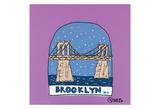 Brooklyn Snow Globe Posters by Brian Nash
