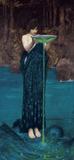 Circe Invidiosa, 1892 Affiche par John William Waterhouse