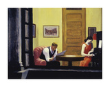 Room in New York, 1932 Art by Edward Hopper
