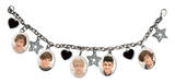 One Direction Charm Bracelet Hearts & Stars Bracelet