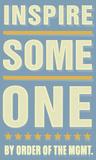 Inspire Someone Poster autor John Golden