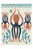 Octopus Garden Posters by Tracy Walker
