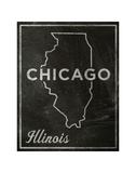 Chicago, Illinois Kunst af John Golden