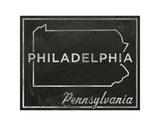 Philadelphia, Pennsylvania Posters by John W. Golden