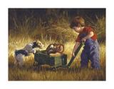 Curious Encounter Poster von Jim Daly