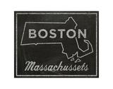 Boston, Massachusetts Print by John W. Golden