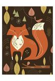 Fox in the Woods Posters by Tracy Walker