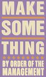 Make Something Print by John Golden