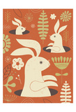 Pop up Bunny Prints by Tracy Walker