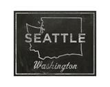 Seattle, Washington Prints by John Golden