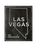 Las Vegas, Nevada Posters by John W. Golden